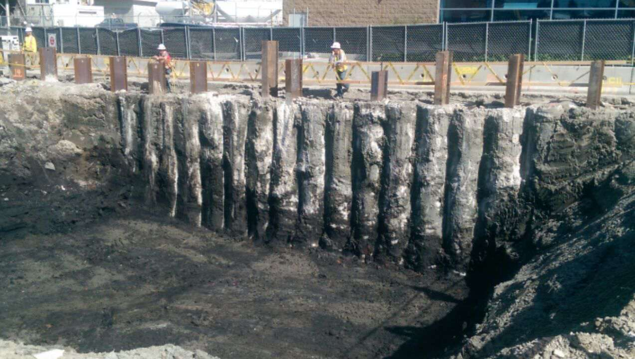 Secant Pile Walls Amp Cofferdams Construction Drilling
