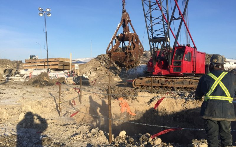 16020-SWRT Sheet Pile Installation